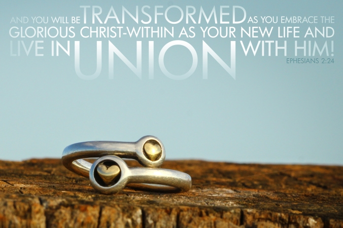 Ephesians 2-24 Poster. Union With Him Ring