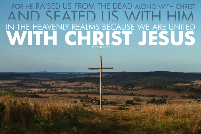 Ephesians 2-6 Poster. Seated in Heavenly Places