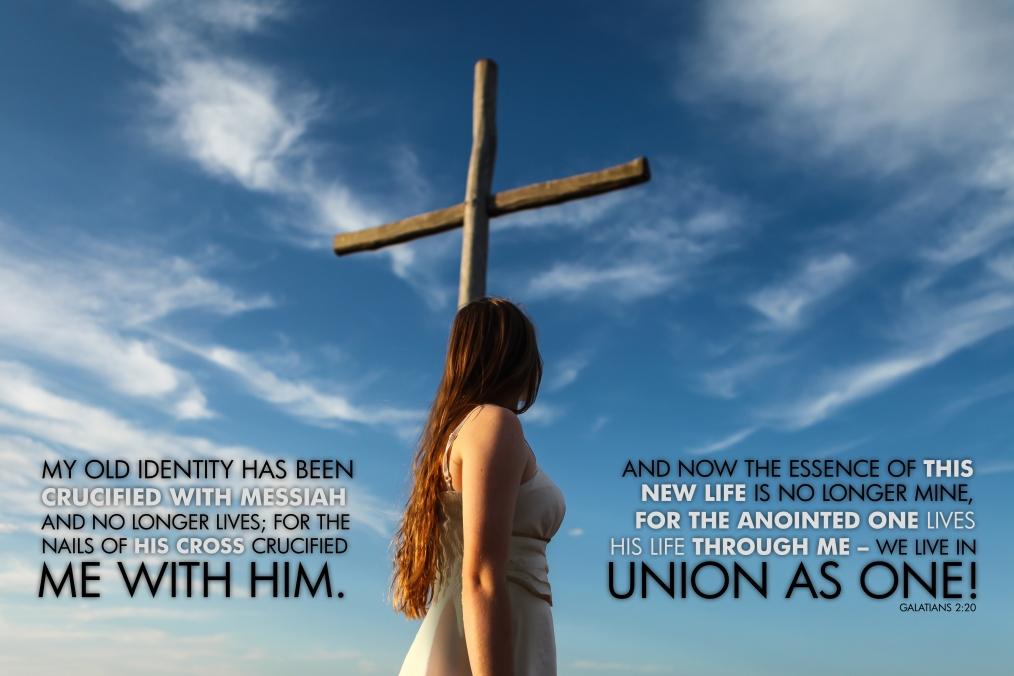 Galatians 2-20 Poster. Live in Union as One