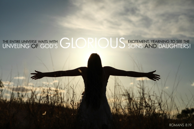 Romans 8-19 Poster  Glorious Sons and Daughters | Oneness